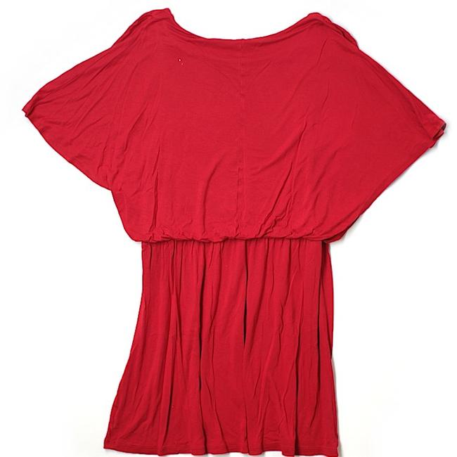 Old Navy short dress red on Tradesy Image 1