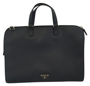 Prada Professional Business Sophisticated Classic Laptop Bag