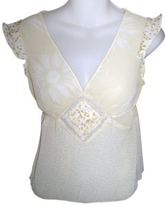 Charlotte Russe Club Wear Party Girls Night Out Top Yellow