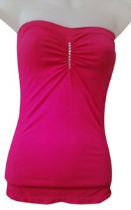 Forever 21 Girls Night Out Party Club Wear Tube Top Magenta