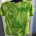Multiples Top tie-dye green Image 1