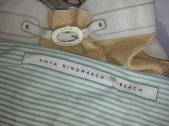 Anya Hindmarch Beach Designer Summery Tote in Ivory