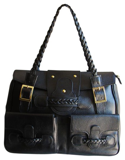 Preload https://img-static.tradesy.com/item/21344356/pebbled-collection-style-4967-large-black-leather-tote-0-1-540-540.jpg