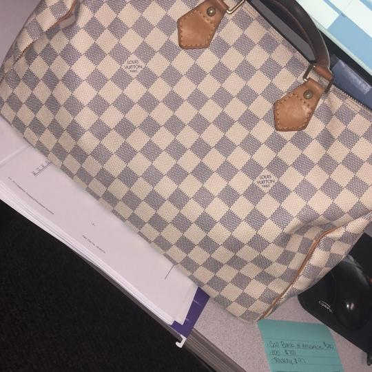 Louis Vuitton Tote in White / Grey Image 2