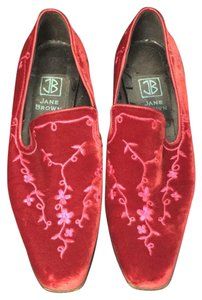 Jane Brown London Red Flats