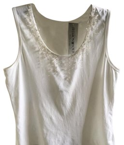 Sharon Young Top white