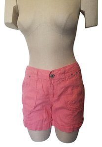 INC International Concepts New Cuffed Shorts Coral