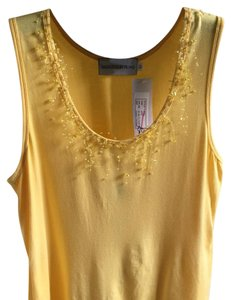 Sharon Young Top yellow