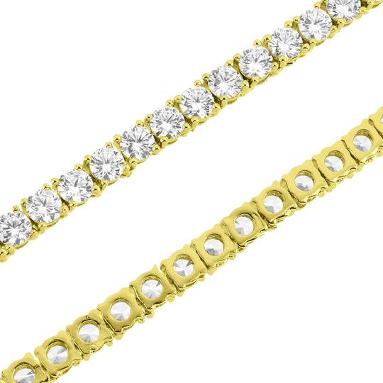 Preload https://img-static.tradesy.com/item/21344571/gold-14k-yellow-tone-mens-iced-out-tennis-link-chain-3mm-necklace-0-1-540-540.jpg