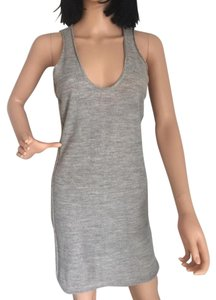 Rogan short dress Grey Wool on Tradesy
