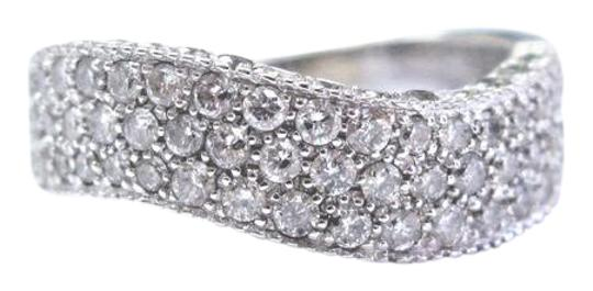 Preload https://img-static.tradesy.com/item/21344628/g-fine-round-cut-diamond-white-gold-pave-3-row-wavy-14kt-200ct-ring-0-1-540-540.jpg