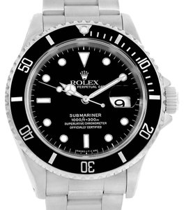 Rolex Rolex Submariner Stainless Steel Automatic Mens Watch 16610