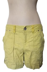 INC International Concepts New Cuffed Shorts Lime Green
