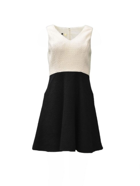 Preload https://img-static.tradesy.com/item/21344864/4collective-ivoryblack-color-short-night-out-dress-size-6-s-0-0-650-650.jpg