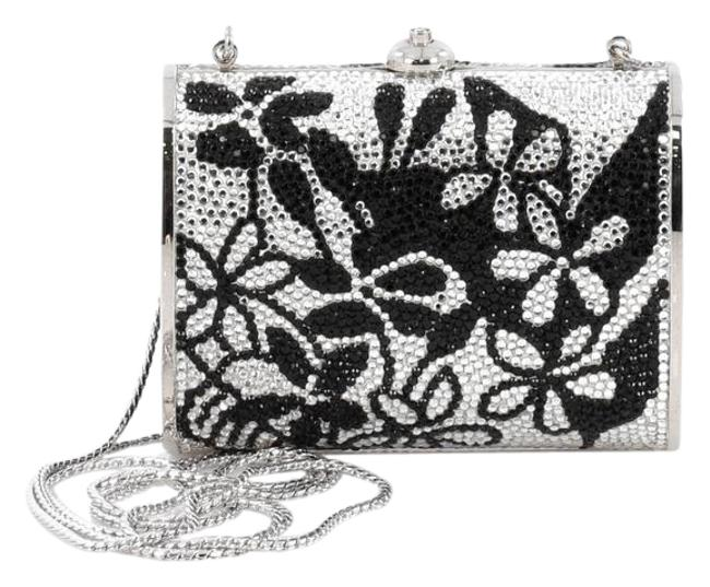 Item - Minaudiere Small Black and White Crystals Clutch