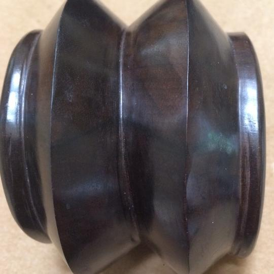 Other Carved Tribal Wood Cuff Image 2