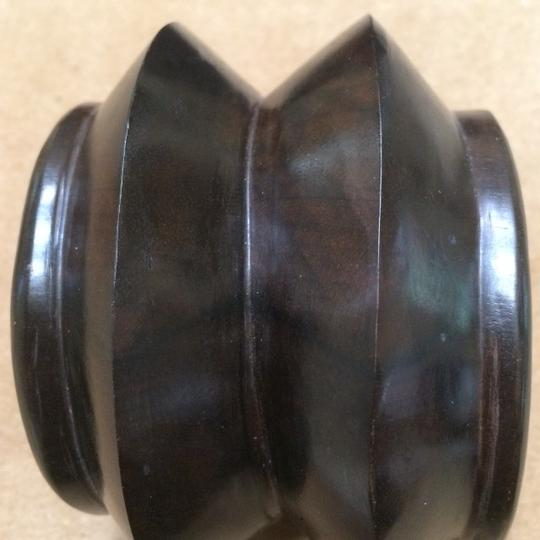 Other Carved Tribal Wood Cuff Image 6