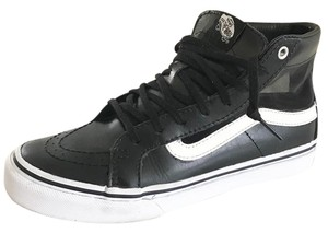 Vans Street Leather Mesh Edgy black Athletic
