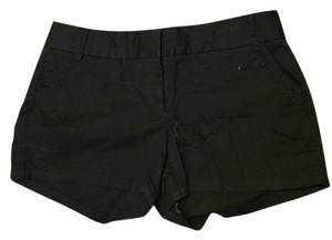 J.Crew Chino Mini/Short Shorts Black