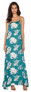 Emerald Maxi Dress by Free People Boho Floral Femme Maxi Intimately