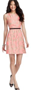 Ann Taylor LOFT short dress pink/ taupe on Tradesy