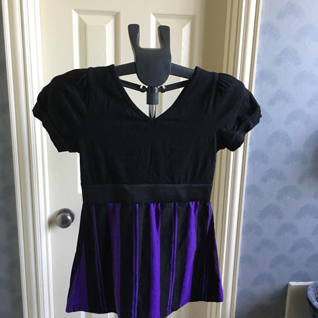 Levin Femme Top black and purple Image 1