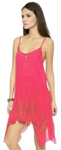Free People short dress Pink Tango on Tradesy