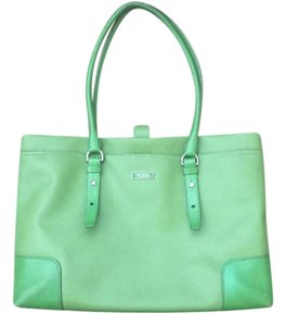 Tumi Tote in green