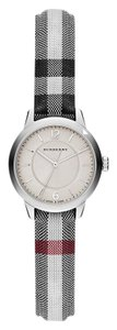 Burberry Swiss Stone Check Fabric Strap Watch 26mm BU10200