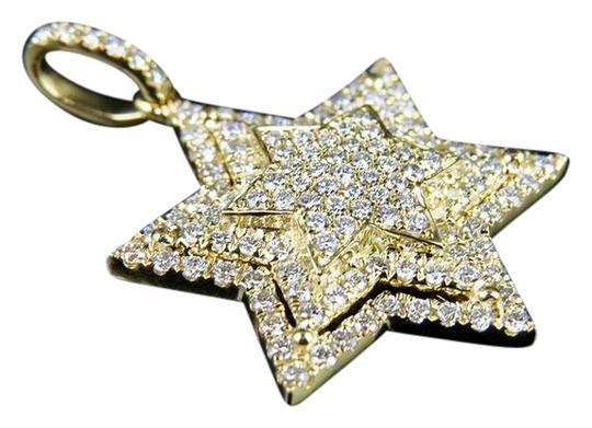 Preload https://img-static.tradesy.com/item/21345307/10k-yellow-gold-stacked-iced-out-star-of-david-diamond-pendant-34-ct-charm-0-1-540-540.jpg