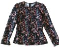 Zara Top black & floral
