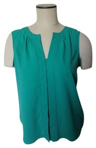 Calvin Klein Sleeveless Semicasual Top Teal