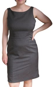 H&M Professional Grey Tight Slim Slimming Sleeveless Dress