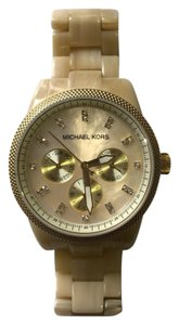 Michael Kors Horn and Mother of Pearl