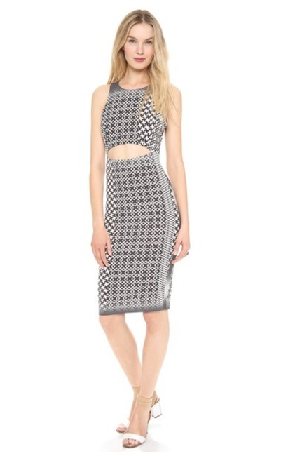 Preload https://img-static.tradesy.com/item/21345483/charles-henry-black-and-white-cutout-tank-mid-length-cocktail-dress-size-6-s-0-0-650-650.jpg
