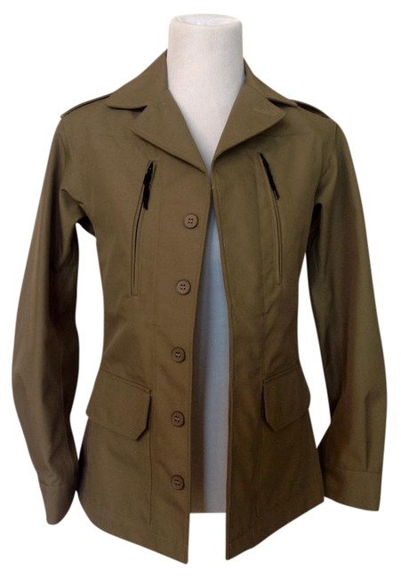 A.P.C. Olive Green Jacket Image 0