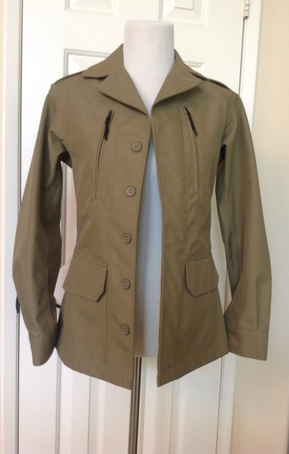A.P.C. Olive Green Jacket Image 1