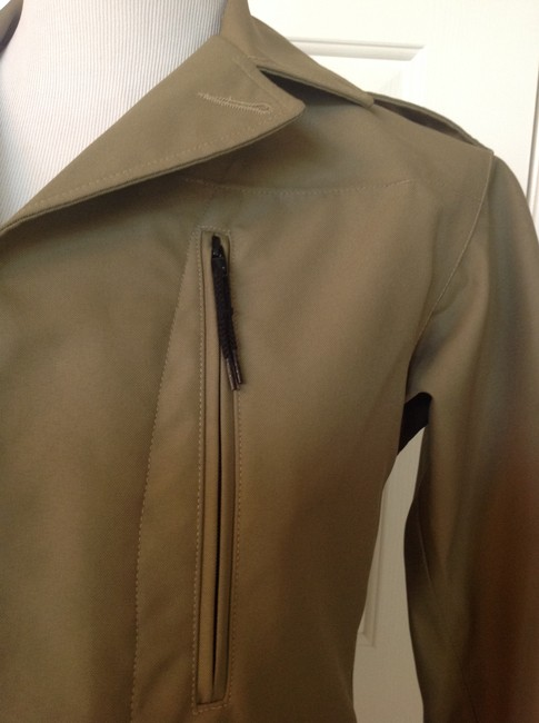 A.P.C. Olive Green Jacket Image 4