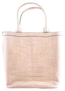 Marc Jacobs Alligator Tote in Brown