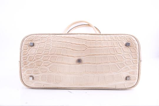 Marc Jacobs Alligator Tote in Brown Image 4