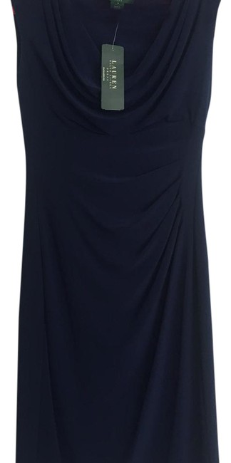 Preload https://img-static.tradesy.com/item/21345505/ralph-lauren-deep-blue-sapphire-mid-length-workoffice-dress-size-4-s-0-1-650-650.jpg