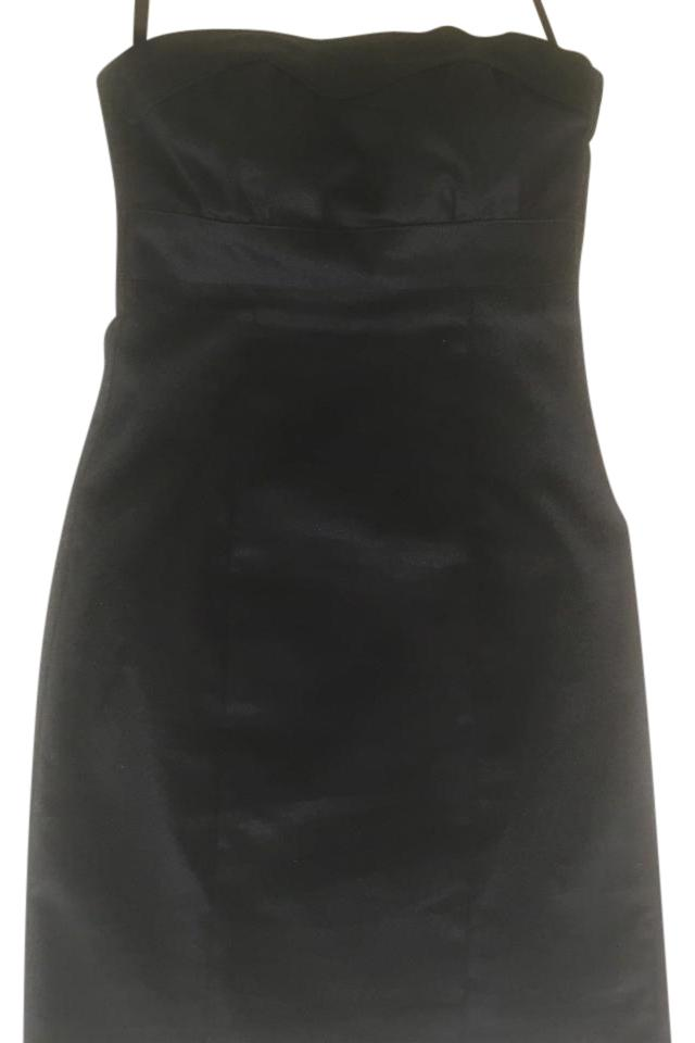 b30aee44c636 H&M Black New with Tags Strapless Sheath 2) Mid-length Work/Office ...