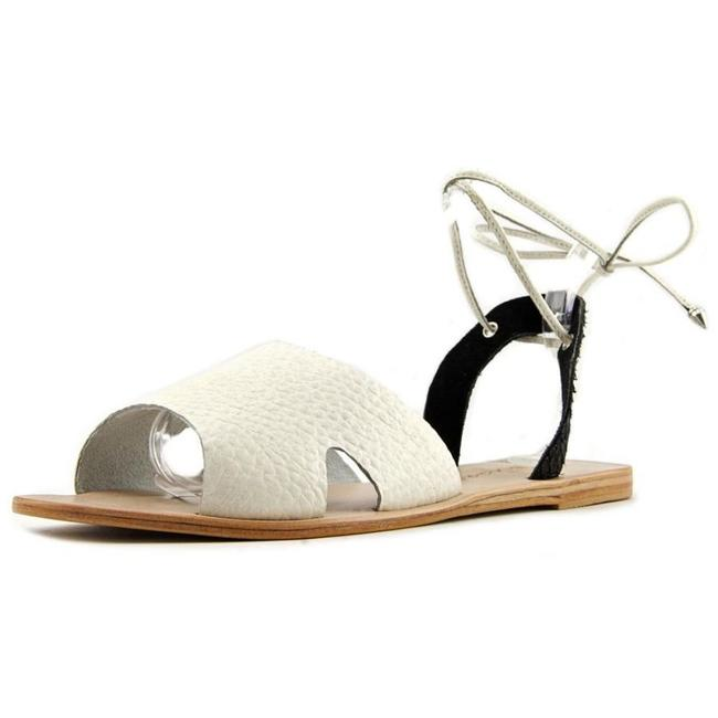 Item - Blk White Killer Summer New Sandals Size US 8 Regular (M, B)