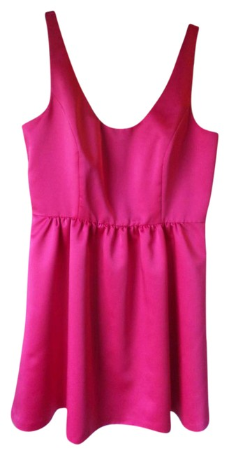 Preload https://img-static.tradesy.com/item/21345800/badgley-mischka-hot-pink-collection-short-cocktail-dress-size-14-l-0-1-650-650.jpg