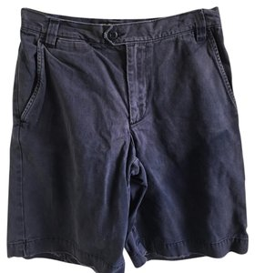 Abercrombie & Fitch Bermuda Shorts navy blue