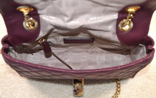 Michael Kors Quilted Leather Shoulder Bag Image 3