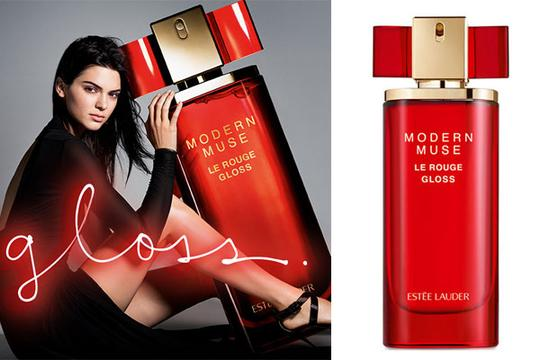 Estée Lauder NEW Modern Muse Le Rouge Gloss EdP Spray Mini Collectible, Travel Size Image 1