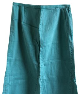 City Girl by Nancy Bolen Skirt green