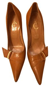 Casadei Tan Pumps