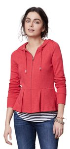 Anthropologie Red Saturday Sunday Hooded Jacket